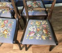 Set of Four Regency Style Dining Chairs by Gill & Reigate (9 of 12)