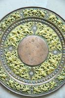 Indian Decorative Copper & Brass Tray (8 of 11)