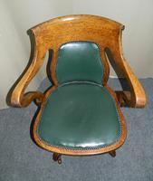 Oak Desk Chair - Adjustable (6 of 7)