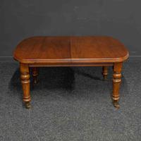 Victorian Mahogany Extending Table (3 of 9)