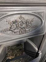 Antique Cast Iron Fireplace Insert (4 of 5)