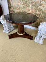 19th Century Marble Top Centre Table with Ormolu Band (2 of 6)