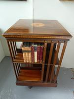 Fine Edwardian Revolving Bookcase (9 of 9)