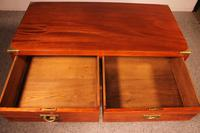 19th Century Campaigne / Army Chest of Drawers in Mahogany (3 of 11)