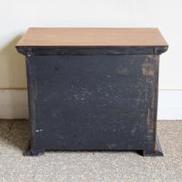 Satinwood & Walnut Victorian Collectors Chest (6 of 6)