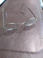 Round Metal Spectacles with wrap around arms (3 of 3)
