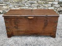 Large Antique Anglo Indian Trunk (10 of 26)