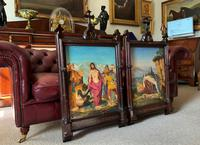 Pair of 19th Century Religious Old Master Oil Paintings - Set of 14 Available (2 of 32)