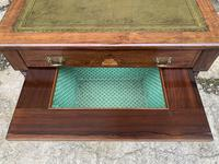 Antique Rosewood Inlaid Writing Desk (10 of 19)