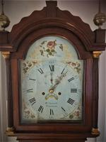 Eight Day Georgian Longcase Clock (5 of 12)
