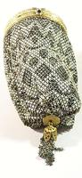 Rare 1920s Flapper Bag Sterling Silver Top (3 of 12)