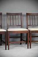 6 Georgian Mahogany Dining Chairs (3 of 12)