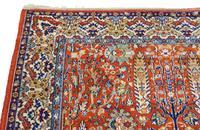 """Vintage / Retro Wool Rug Roughly 6'8"""" x 4'2"""" Eastern (6 of 7)"""