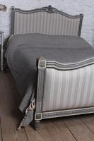 Beautiful Newly Upholstered King Size French Louis XVI Style Bed (6 of 11)