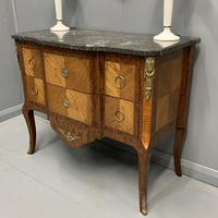 French 19th Century Marble Top Commode (6 of 11)