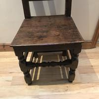 1680's Oak Pegged Chair (3 of 15)