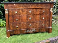 French Empire Commode in Flame Mahogany (4 of 10)