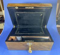 Victorian Brass Inlaid Walnut Writing Slope (13 of 21)