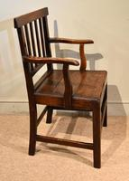 Country Oak Vernacular Armchair (3 of 4)