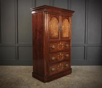 Marquetry Inlaid Rosewood Tallboy (2 of 12)