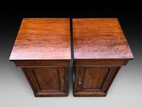 Pair of Mahogany Bedside Cabinets (3 of 5)