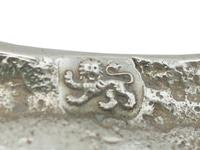 Sterling Silver Tapersticks - Antique George III 1769 (9 of 12)