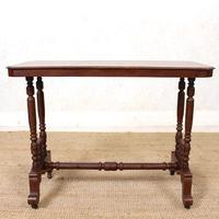 Library Desk Writing Table Mahogany 19th Century (4 of 13)
