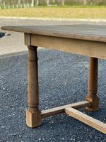 Rustic Bleached Oak Farmhouse Dining Table (21 of 25)