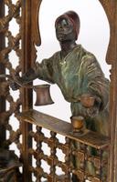 Franz Xavier Bergmann Austria Cold-painted Bronze Coffee Vendor Inkwell Figure (13 of 24)