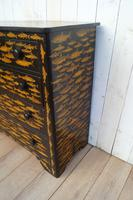 Victorian Chest of Drawers with Fish Decoupage (5 of 11)