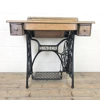 Antique Singer Sewing Machine Side Table (12 of 12)
