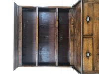 Small Antique Oak Farmhouse Country or Cottage Dresser (4 of 12)