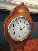 Edwardian Sheraton Teardrop Mantel Clock (2 of 6)