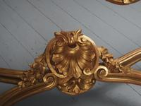 George II Style Marble Top Gilded Console Table (9 of 12)