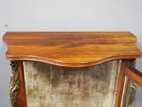 French Rosewood Vitrine by Thomas Justice & Sons (3 of 14)