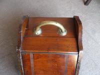 A Mahogany Coal Box from  c 1920's - 30's (2 of 6)
