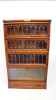 Good Quality Mahogany Globe Wernicke Sectional Glazed Bookcase (25 of 29)