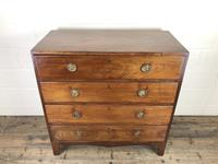 Antique 19th Century Mahogany Chest of Drawers (5 of 12)