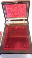 Victorian Ladies Sewing Box & Writing Slope (7 of 16)