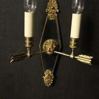 French Pair Of Empire Antique Wall Lights Oka (6 of 10)
