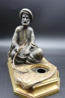 Well Modelled Late 19th Century Bronze of a Snake Charmer (5 of 5)