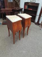 Pair of French Marble Top Tables (6 of 6)