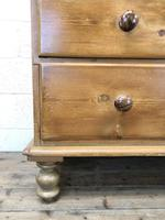 Antique Pine Cupboard with Drawers (7 of 11)