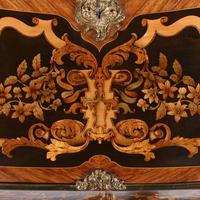 19thc Louis XV Style Marquetry Bureau en Pente (14 of 14)