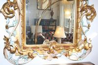 Large Antique Italian Giltwood Mirror (4 of 5)