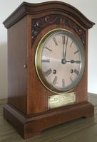 Edwardian High Quality Eight Day Striking Bracket Clock (4 of 11)
