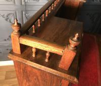 Edwardian Inlaid Rosewood Desk (15 of 23)