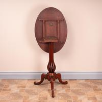 Good Quality Marquetry Walnut Occasional Tip Table (13 of 14)