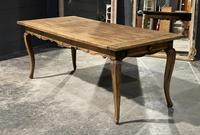 French Oak Farmhouse Kitchen Dining Table (16 of 18)