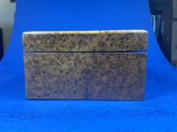 19th Century French Burr Cedar Inlaid Box (10 of 11)